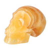 thumb-Oranje Calciet schedel 438 gram-4
