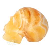 thumb-Oranje Calciet schedel 438 gram-5