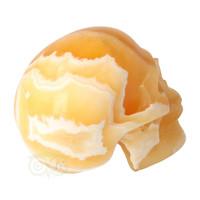 thumb-Oranje Calciet schedel 438 gram-8