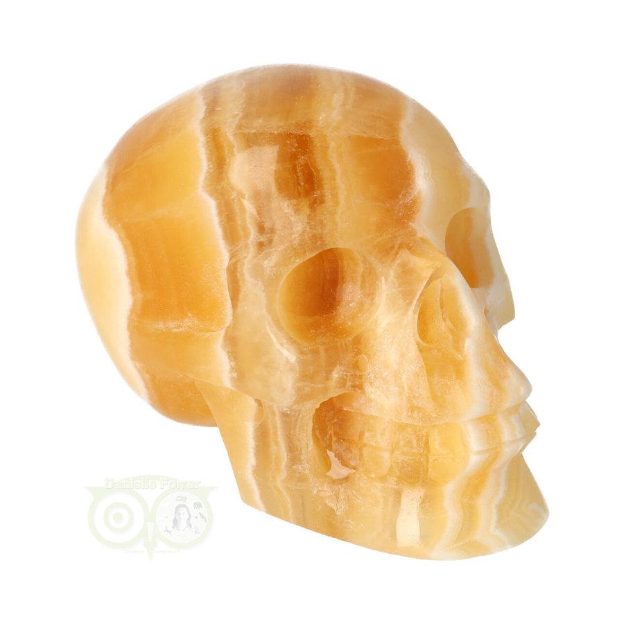 Oranje Calciet schedel 276 gram-1