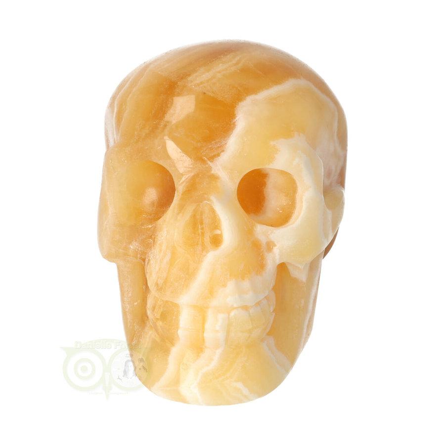 Oranje Calciet schedel 276 gram-3
