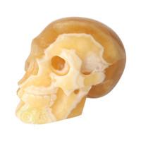 thumb-Oranje Calciet schedel 276 gram-4