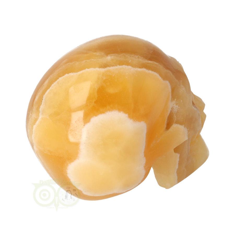 Oranje Calciet schedel 276 gram-8