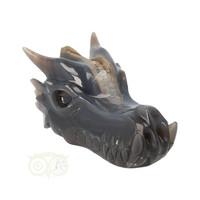 thumb-Agaat geode draken schedel 893 gram-2