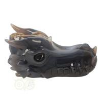 thumb-Agaat geode draken schedel 893 gram-10