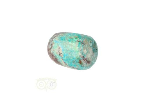 Chrysocolla Knuffelsteen Nr 31