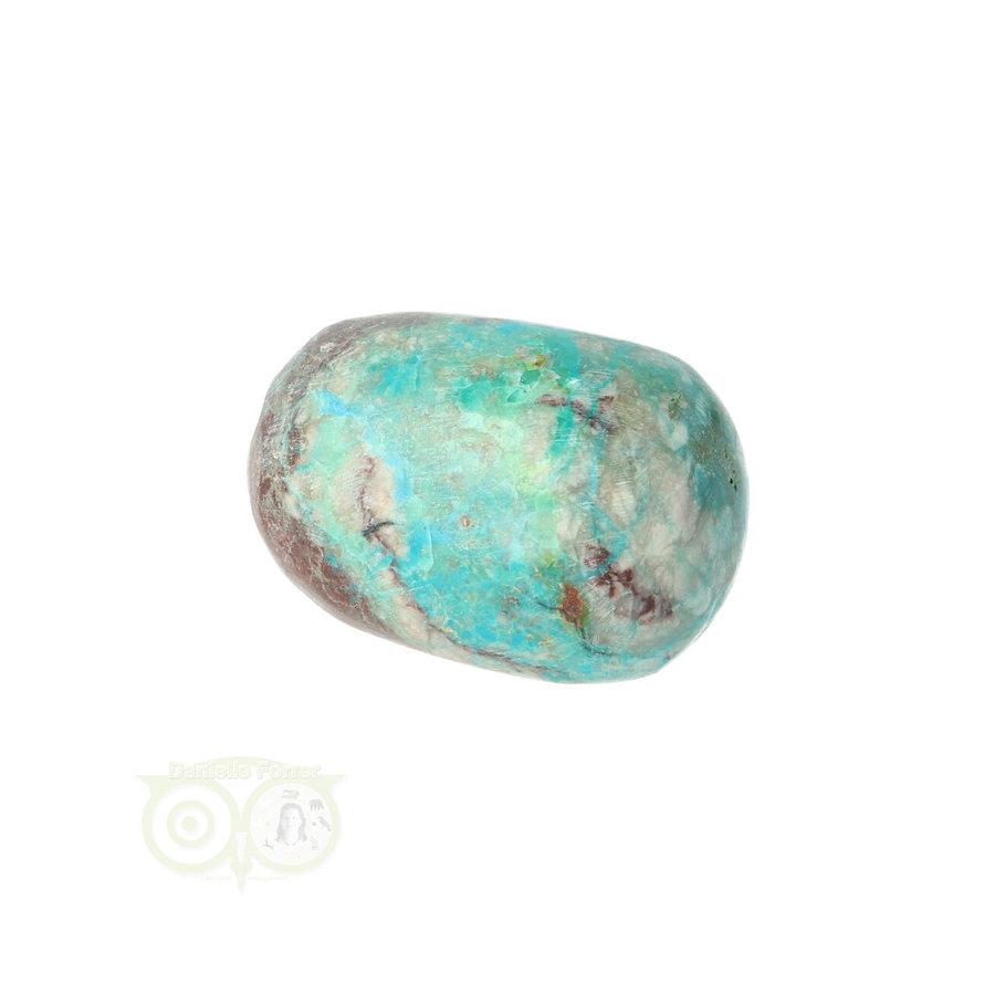 Chrysocolla Knuffelsteen Nr 31 - 36  gram-1