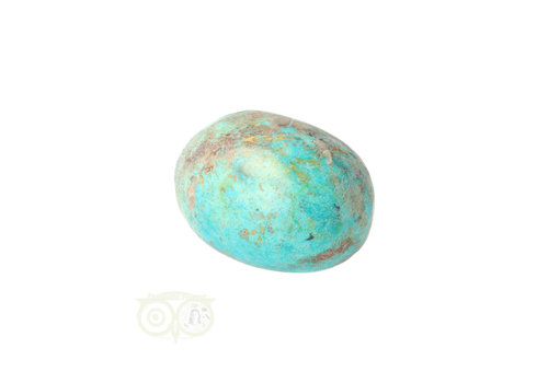 Chrysocolla Knuffelsteen Nr 35