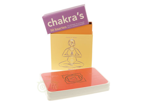Chakra's -50 kaarten - Olivia H. Miller
