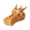 Calciet draken schedel 619 gram