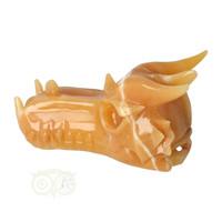 thumb-Calciet draken schedel 619 gram-3