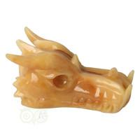 thumb-Calciet drakenschedel Nr 269 - 782 gram-1