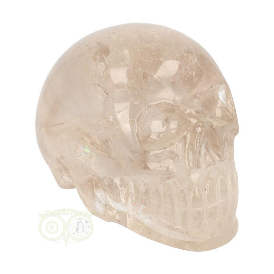 Bergkristal / Lichte rookkwarts schedel - Nr  222 - 3151 gram-2