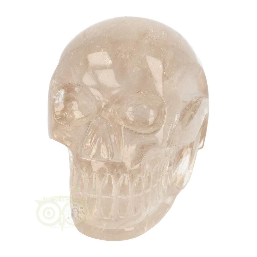 Bergkristal / Lichte rookkwarts schedel - Nr  222 - 3151 gram-4