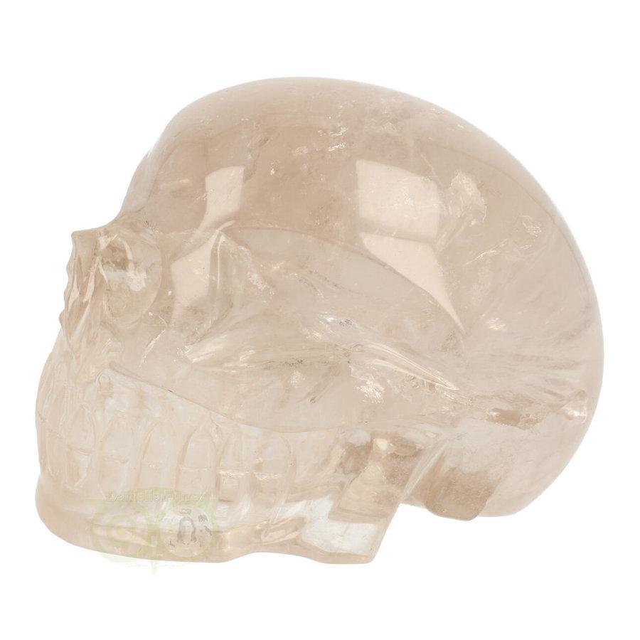 Bergkristal / Lichte rookkwarts schedel - Nr  222 - 3151 gram-5