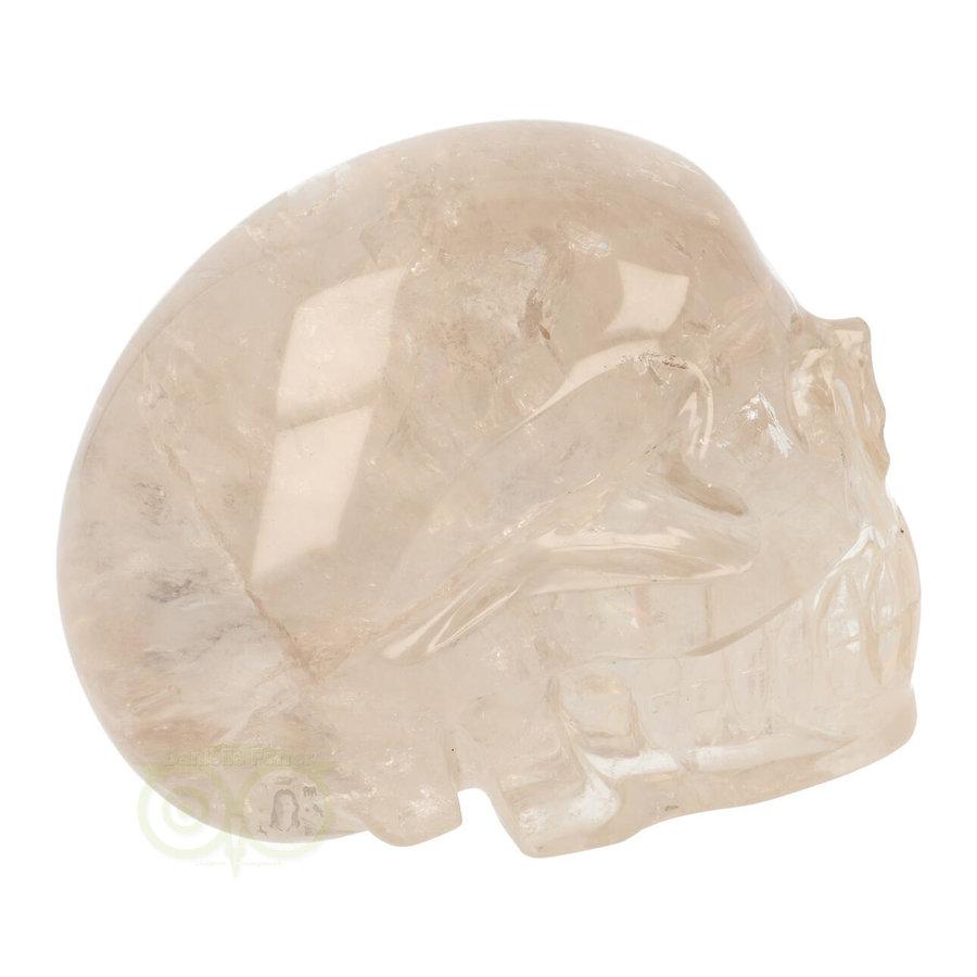 Bergkristal / Lichte rookkwarts schedel - Nr  222 - 3151 gram-9