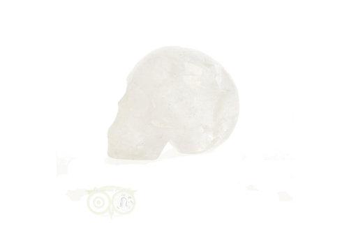 Bergkristal schedel 89 gram