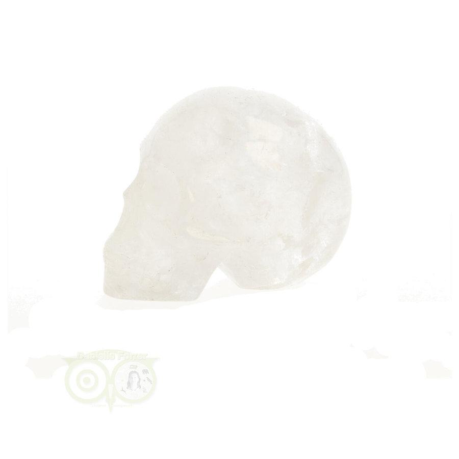 Bergkristal kristallen schedel Nr. 409 - 89 gram-1