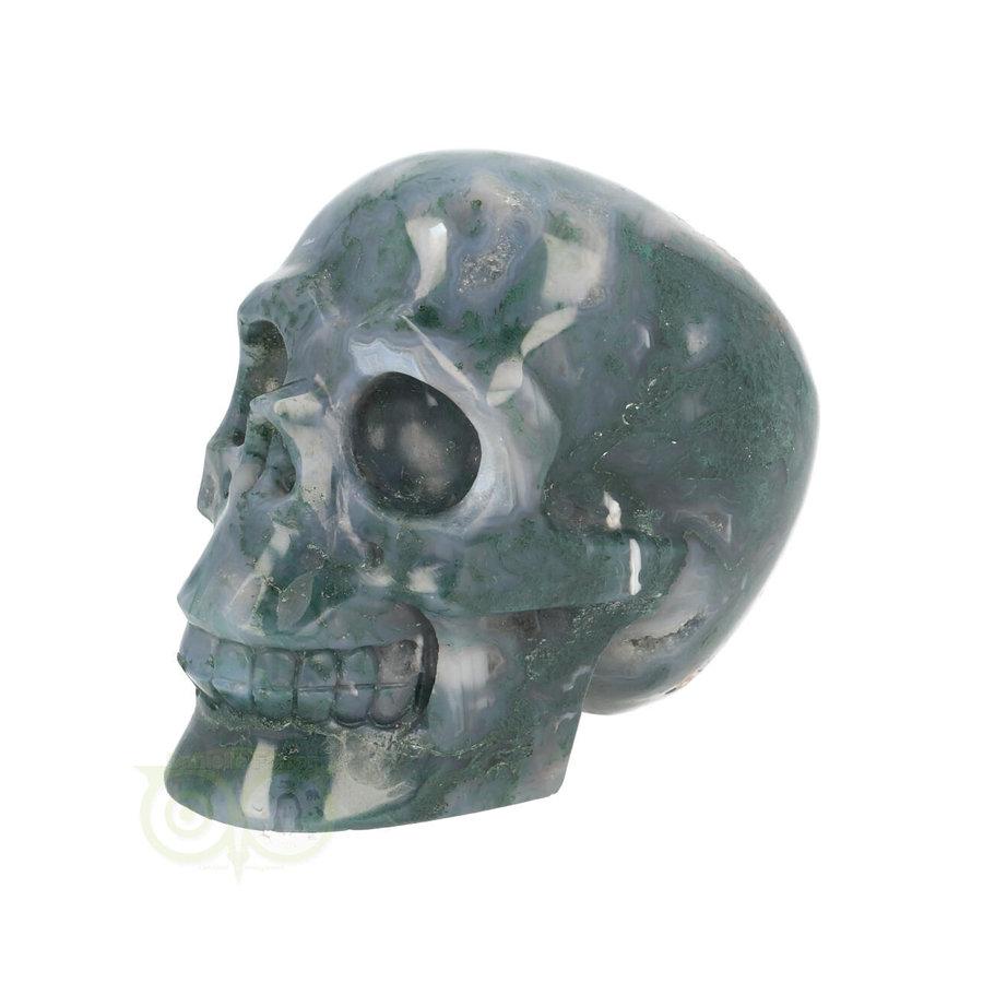 Mos-Agaat schedel 550 gram-4