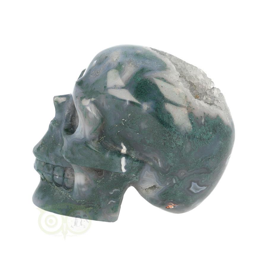 Mos-Agaat schedel 550 gram-6