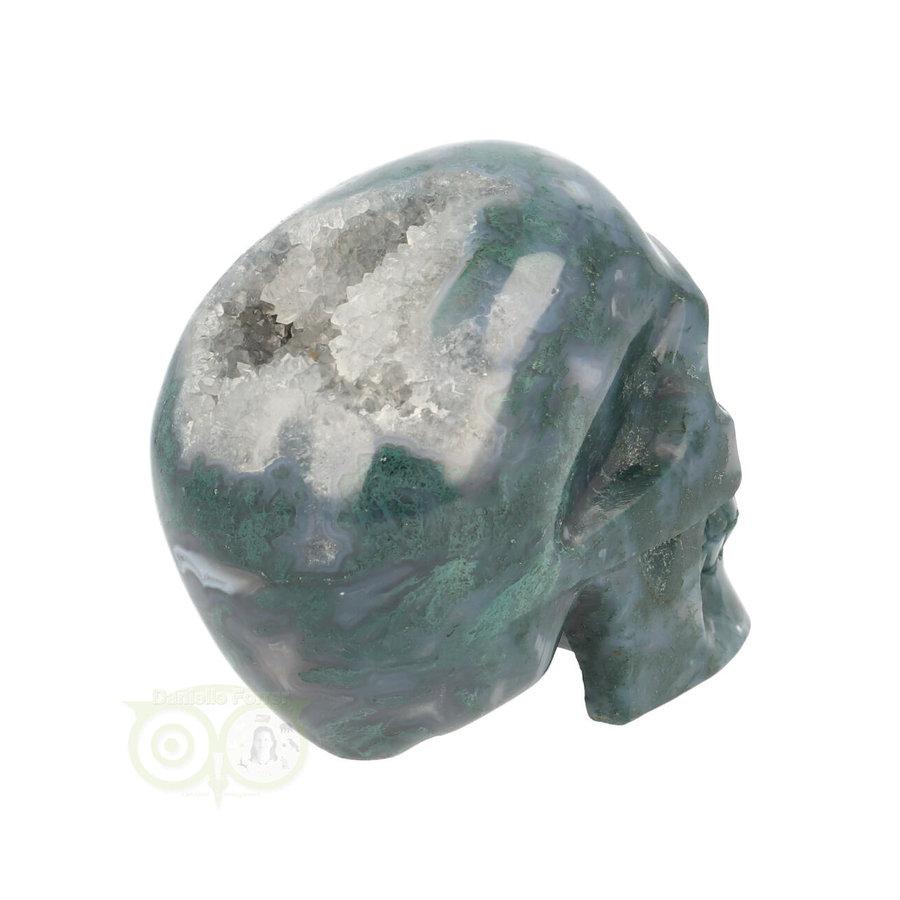 Mos-Agaat schedel 550 gram-9