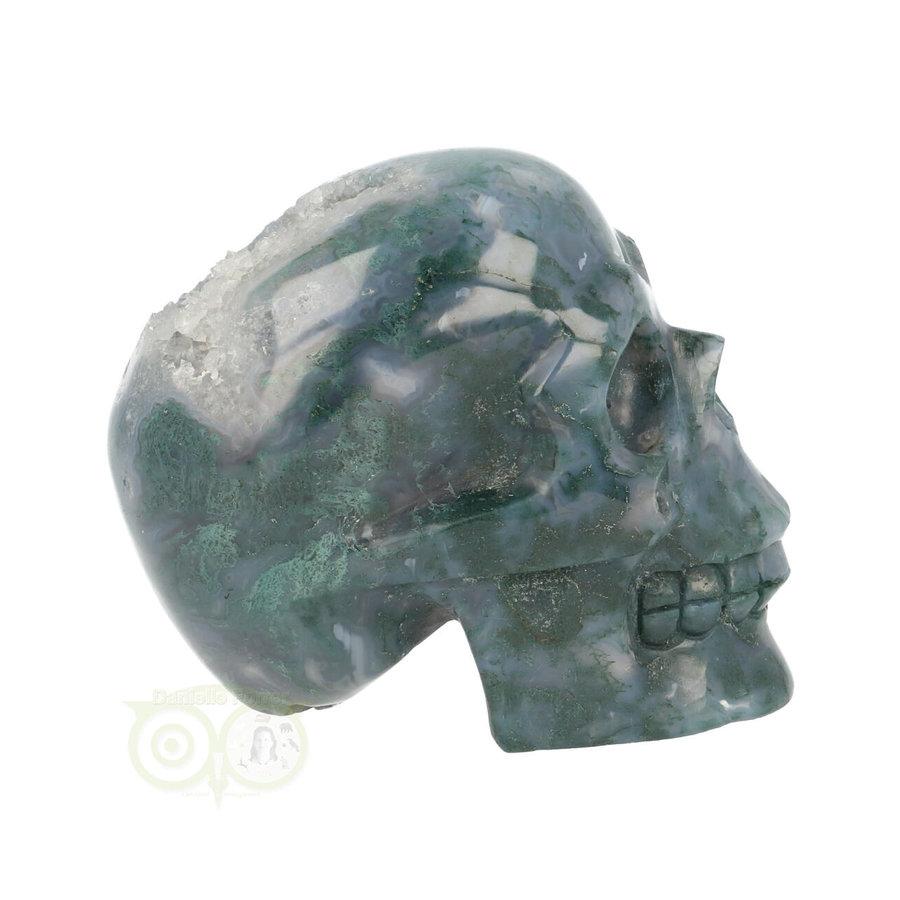 Mos-Agaat schedel 550 gram-10