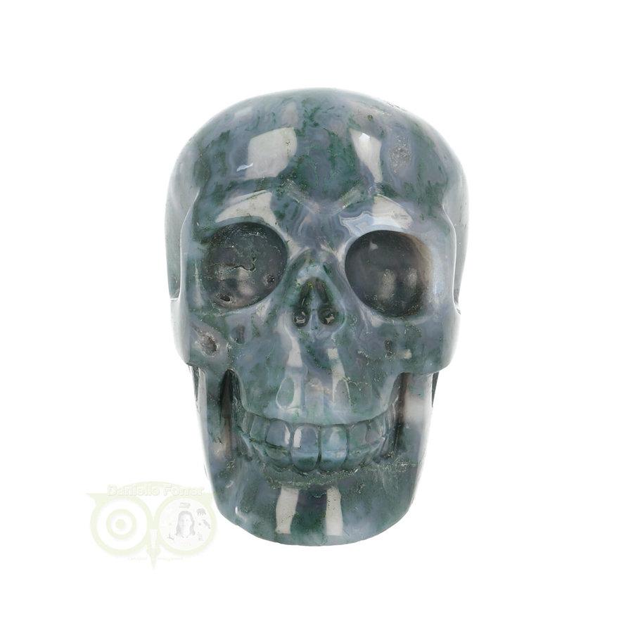 Mos-Agaat schedel 550 gram-2