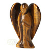 Tijgeroog engel 5,2 cm - Nr 6 - 32 gram