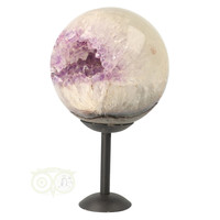 thumb-Amethist Geode Bol Nr 1 - 2061 gram - Brazilie-5