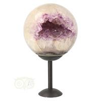 thumb-Amethist Geode Bol Nr 1 - 2061 gram - Brazilie-10