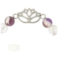 thumb-Armband chevron amethist / bergkristal met lotus-3