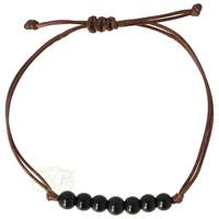 Armband Obsidiaan - verstelbaar