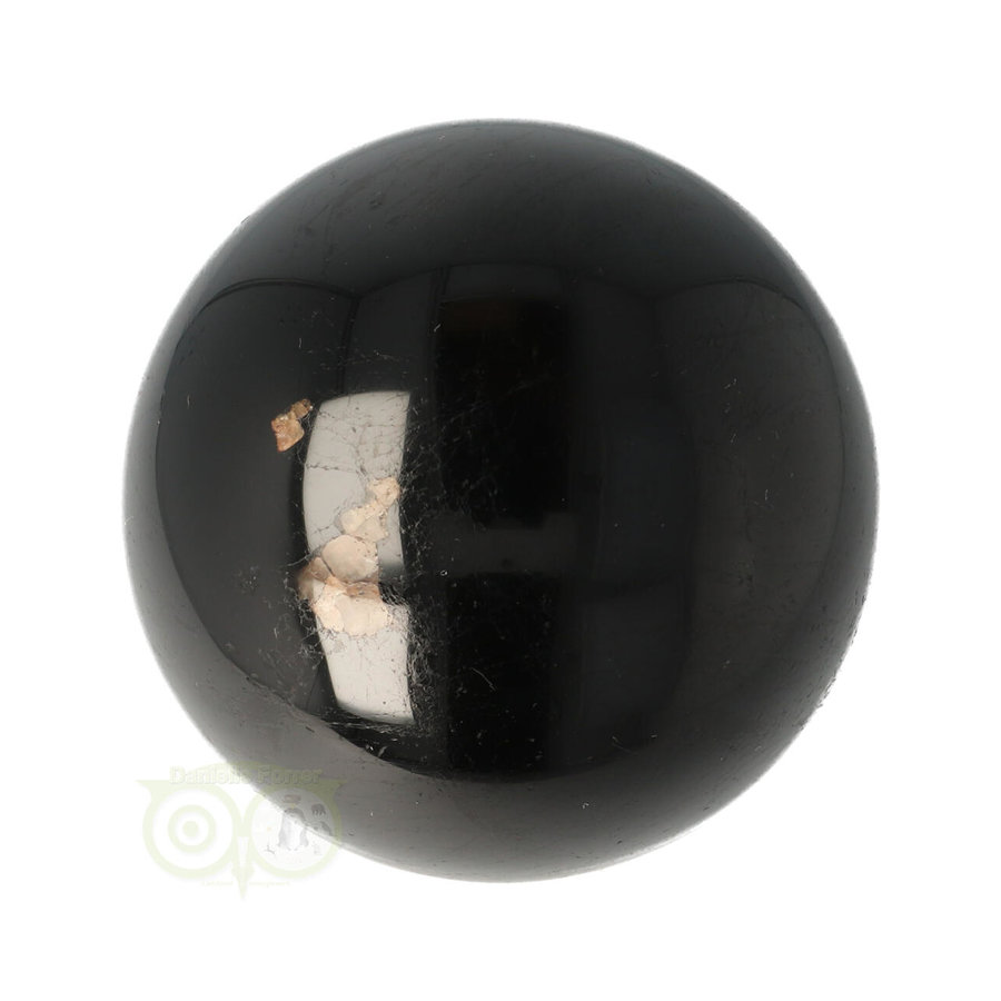 Zwarte Toermalijn Bol Ø 6,18 cm -  401 gram-3