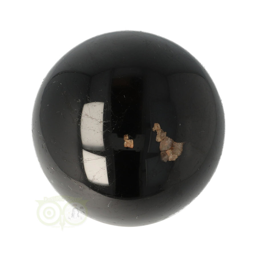 Zwarte Toermalijn Bol Ø 6,18 cm -  401 gram-7
