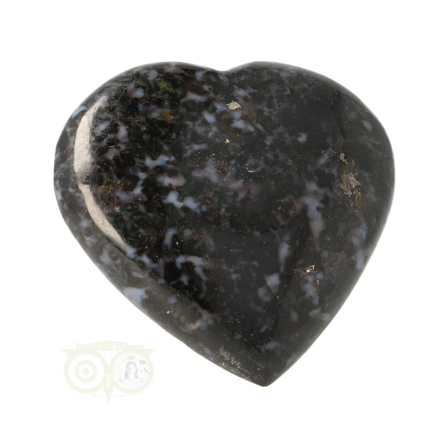 Gabbro Merliniet Hart nr 3 - 79 gram-2