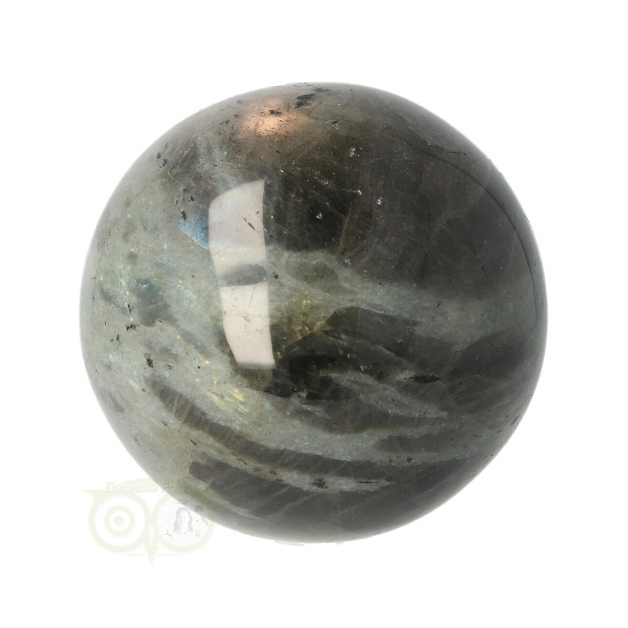 Labradoriet edelstenen bol 375 gram -  Ø 6,43 cm-5