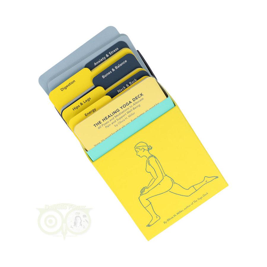 The Healing Yoga Deck - Olivia H. Miller-3
