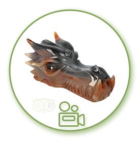 Edelstenen Drakenschedels / Dragonskulls Video | Edelstenen Webwinkel - Webshop Danielle Forrer