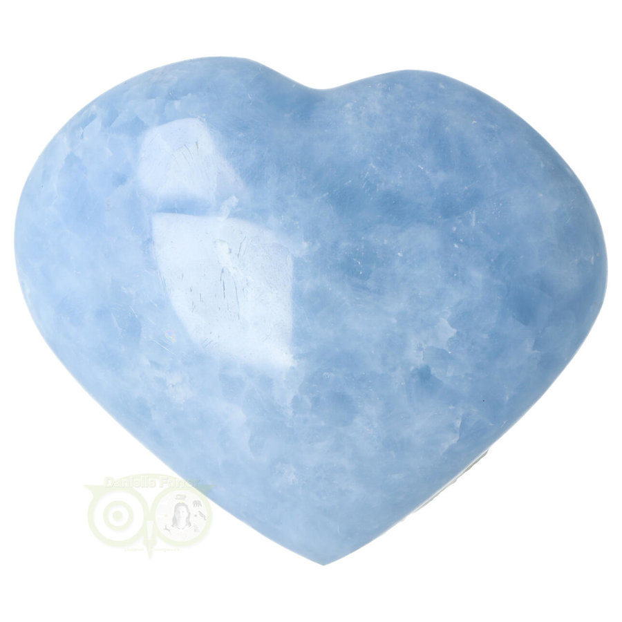 Blauwe Calciet hart Nr 31 -380 gram-1