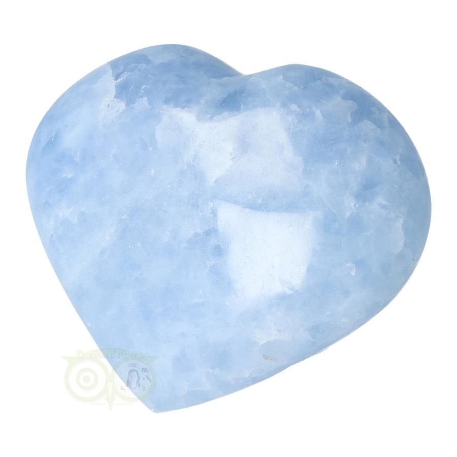 Blauwe Calciet hart Nr 31 -380 gram-4