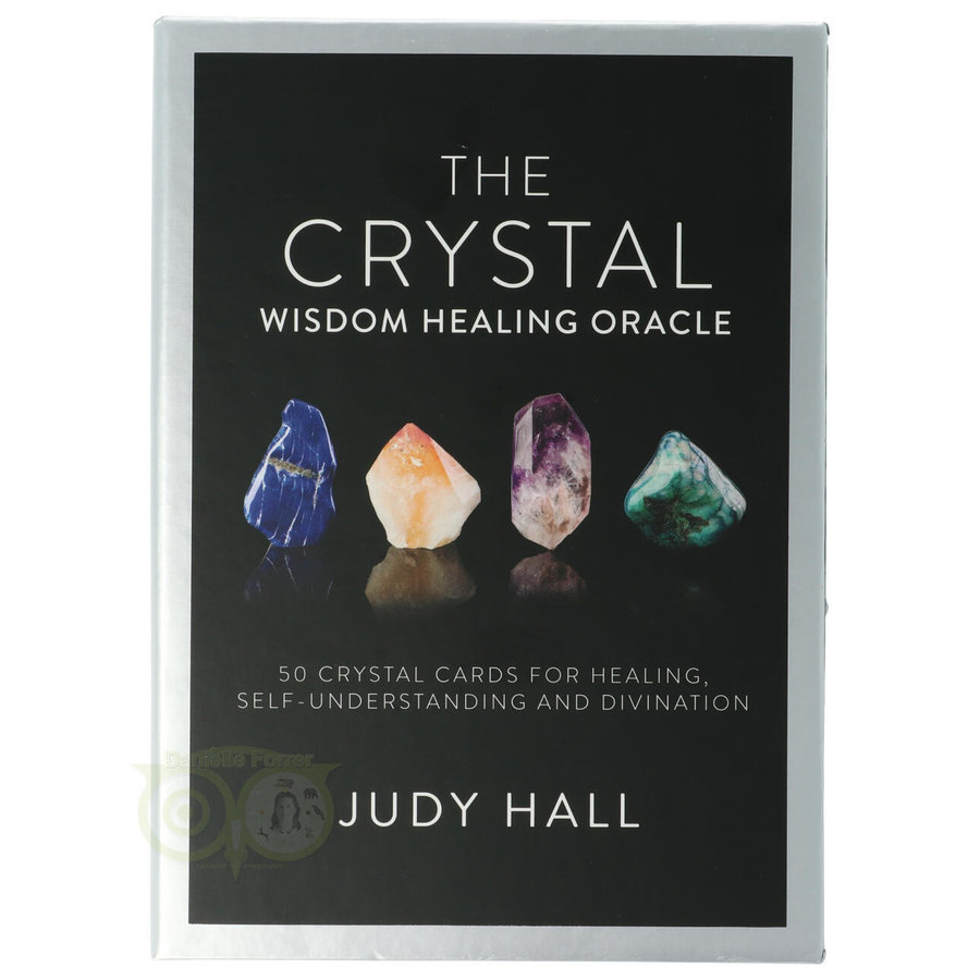 The Crystal Wisdom Healing Oracle - Judy Hall-2