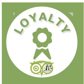 Loyalty - Sparen voor korting | Edelstenen Webwinkel - Webshop Danielle Forrer