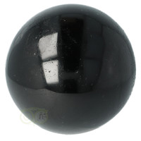thumb-Zwarte Toermalijn Bol Ø 7.61 cm - 719 gram-1