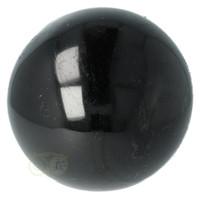 thumb-Zwarte Toermalijn Bol Ø 7.61 cm - 719 gram-2