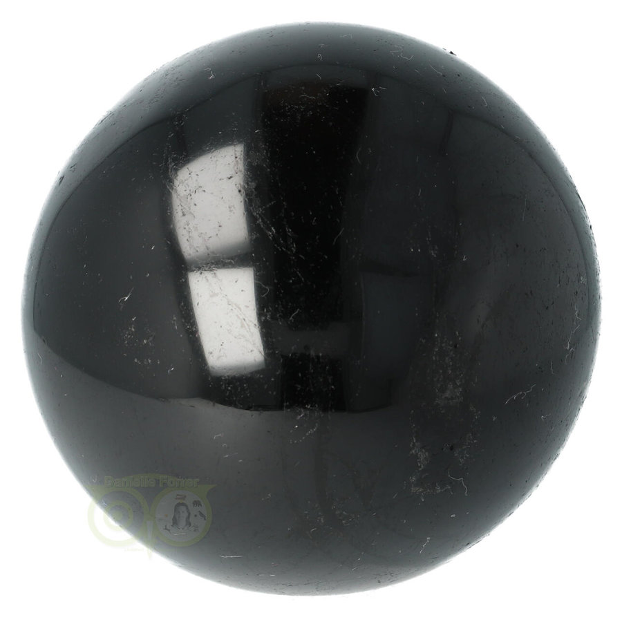 Zwarte Toermalijn Bol Ø 7.61 cm - 719 gram-2
