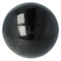 thumb-Zwarte Toermalijn Bol Ø 7.61 cm - 719 gram-4