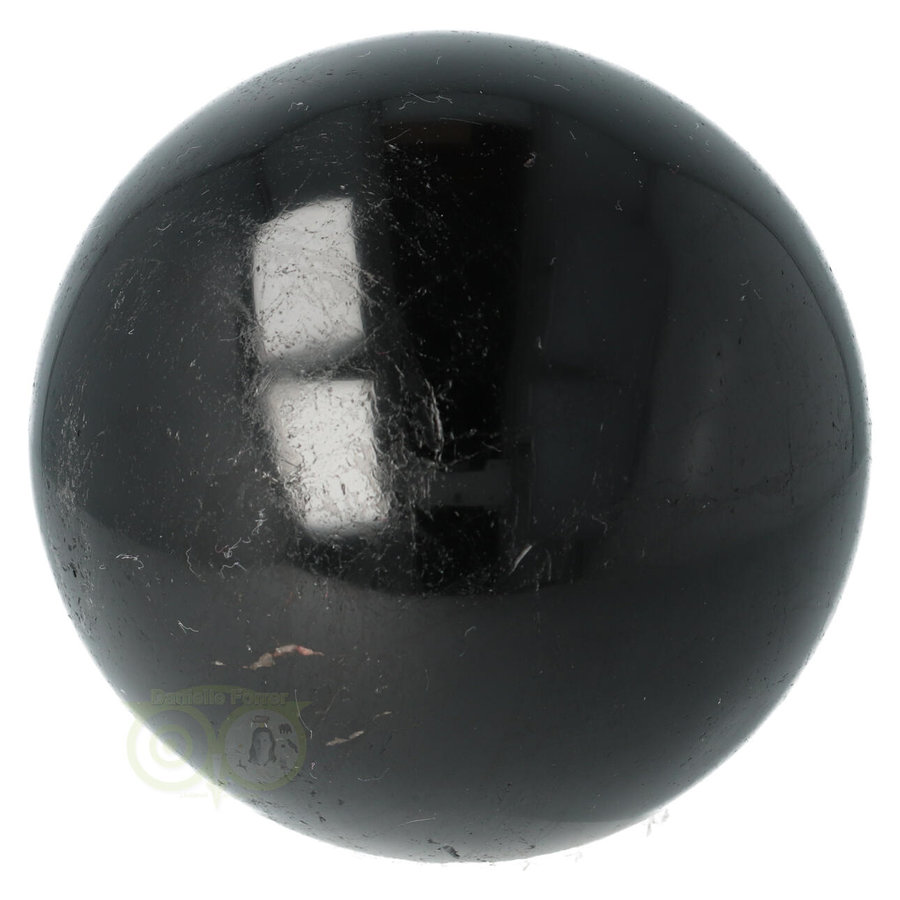 Zwarte Toermalijn Bol Ø 7.61 cm - 719 gram-4