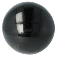 thumb-Zwarte Toermalijn Bol Ø 7.61 cm - 719 gram-5