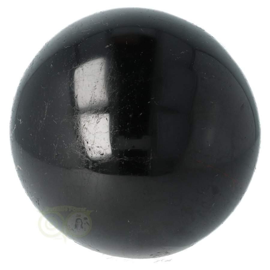 Zwarte Toermalijn Bol Ø 7.61 cm - 719 gram-5