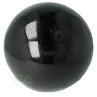 thumb-Zwarte Toermalijn Bol Ø 7.61 cm - 719 gram-7